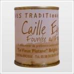Caille désossée fourrée 30% foie gras