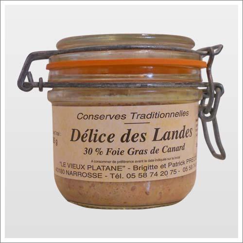 «Délice» Paté au foie-gras